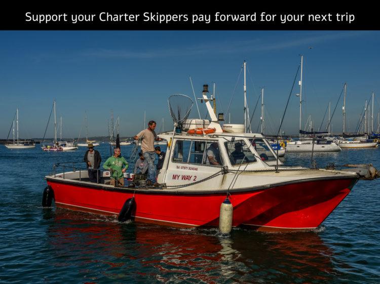 charter boats pay forward