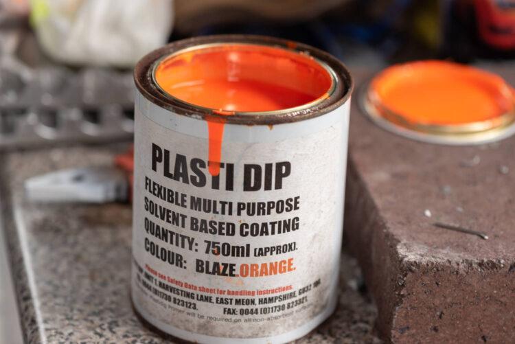 plasti dip weights blaze orange