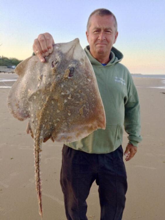 Local angler Mark Oxley