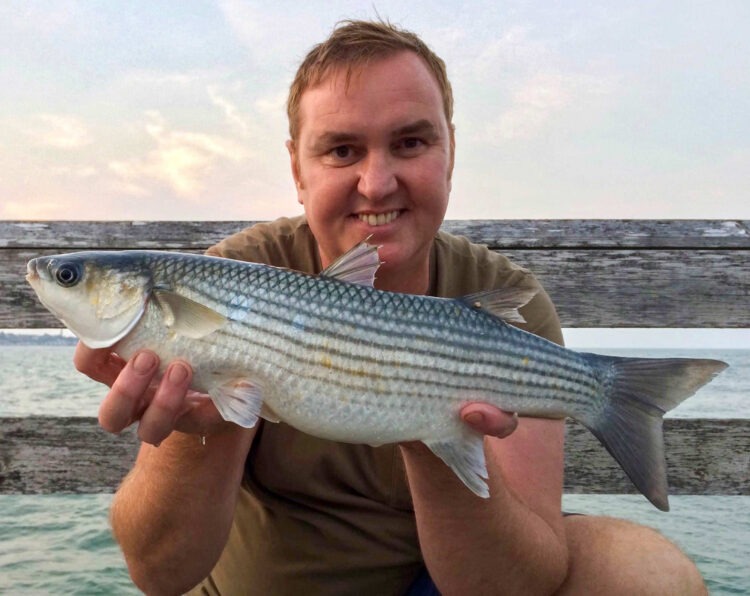 Lawrence Chisnall caught this cracking mullet