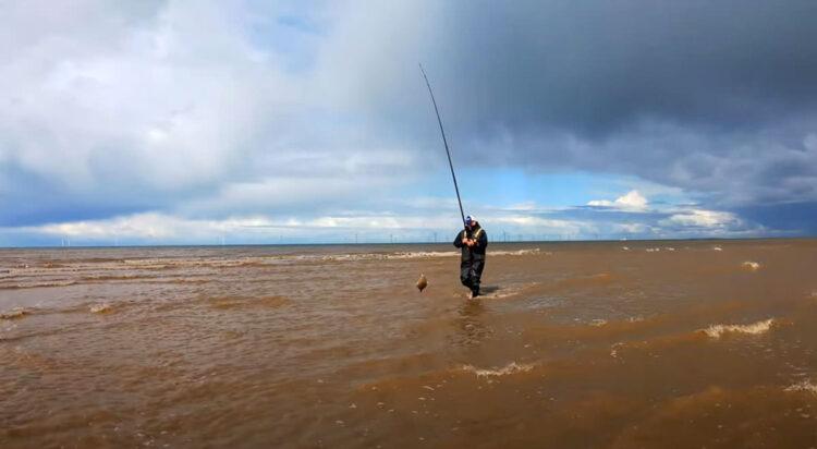 flounder beach fishing