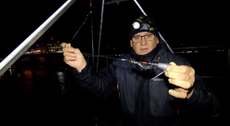Mersey shore fishing rig