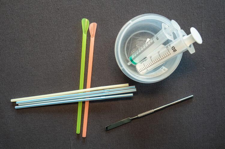 silicone fishing attractors - materials