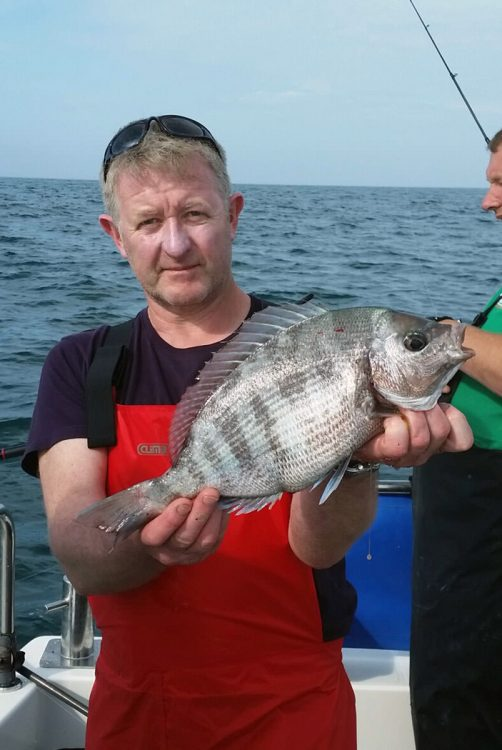 Shane Gilvarry with big bream