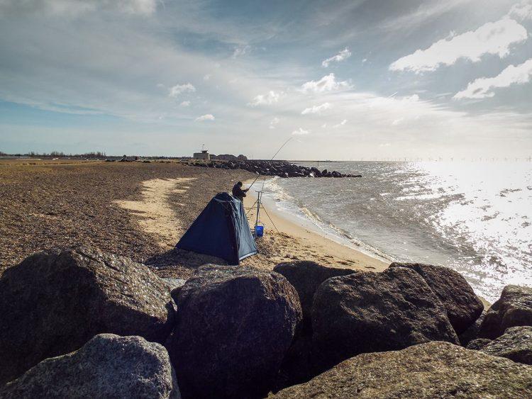 St Osyth beach, famed for its stingrays