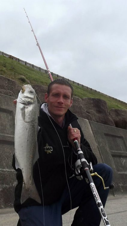 Ant Frith fished last Wednesday at an undisclosed mark and landed a monster bass weighing 7lb 7oz