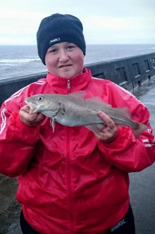 A junior with a codling