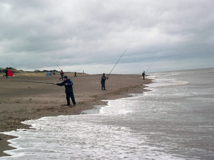 skegness beach fishing