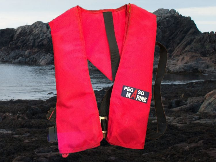 Life jackets are not just for boat anglers