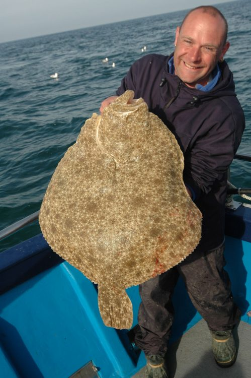 Steve with turbot