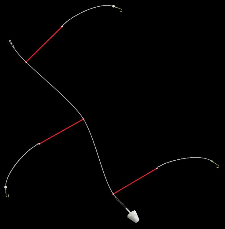 bristle boom rig