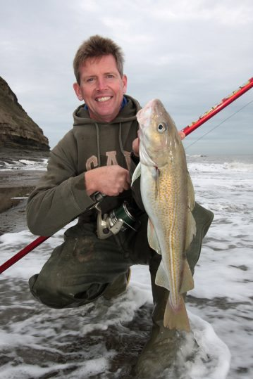 a log rod cod from the Yorkshire coast