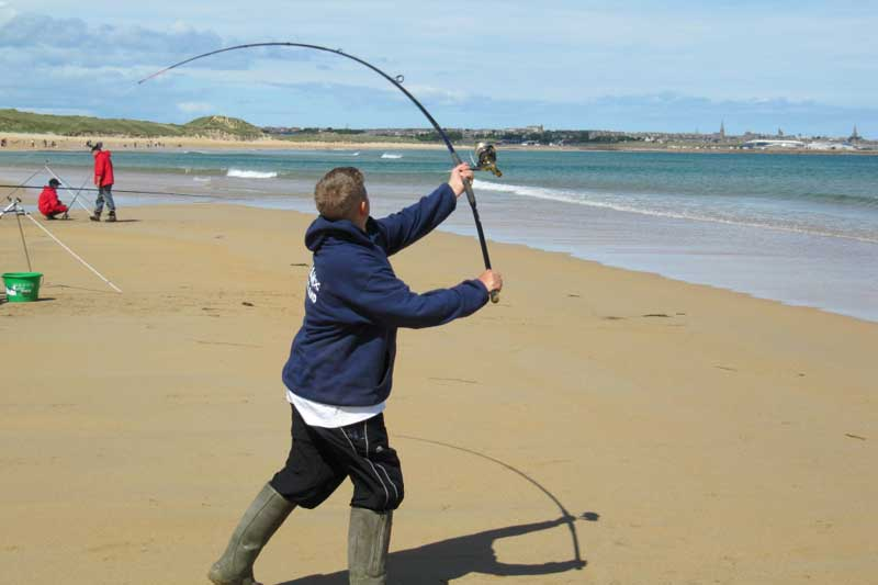 Sea angling for beginners rod types planet sea fishing for Good beginner fishing rod