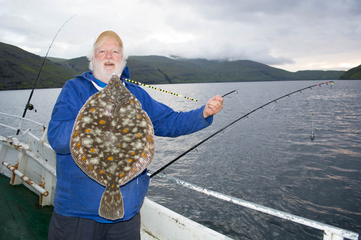 Probably the best plaice fishing in the world planet sea for Best fishing in the world