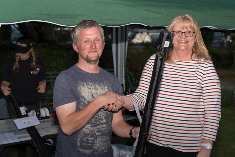 Ladies winner Helen Molloy