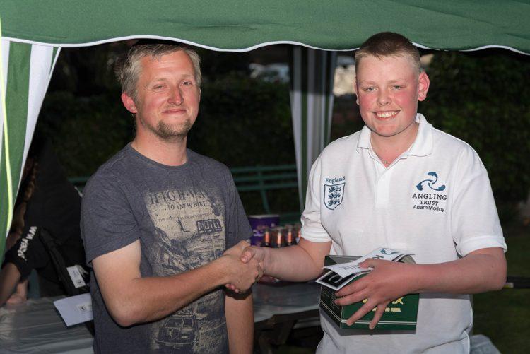 Junior winner Adam Molloy