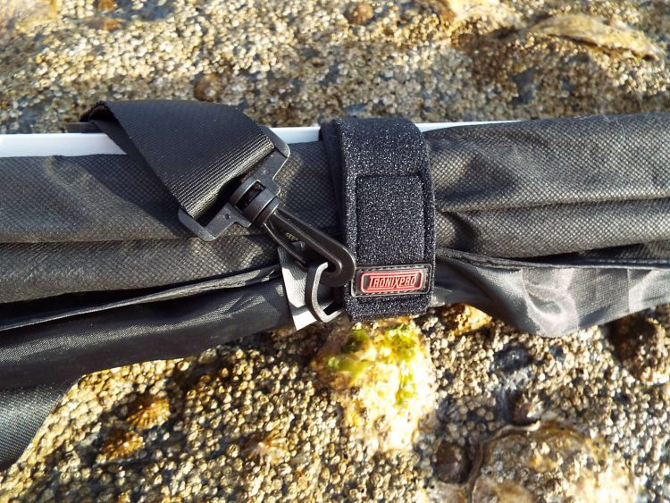 The Strap hooked to the Wrap