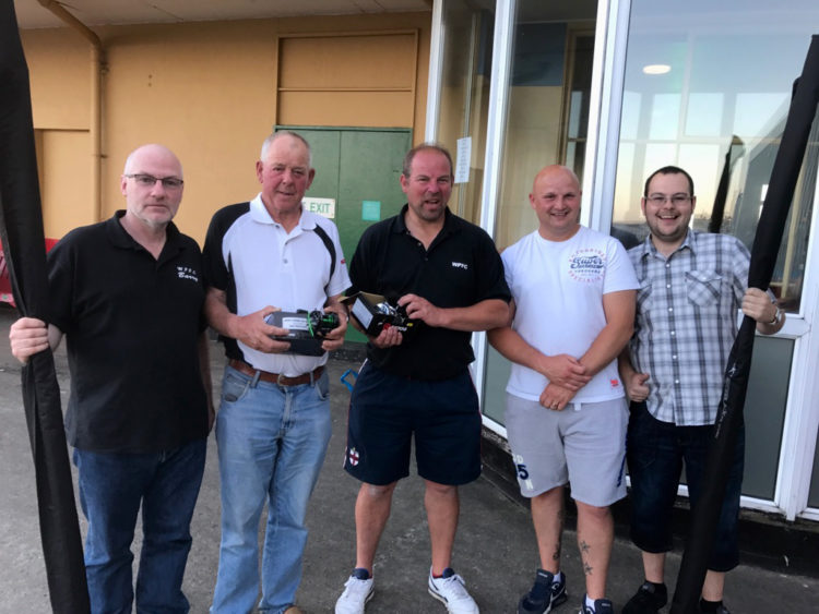 The Walton Pier Club end of season winners