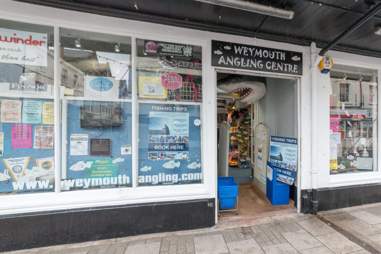 Weymouth Angling Centre frontage