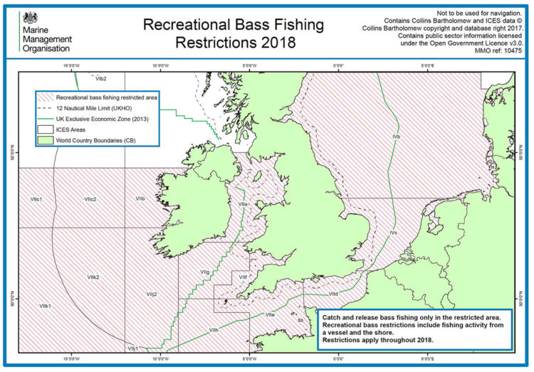 2018 bass restrictions map
