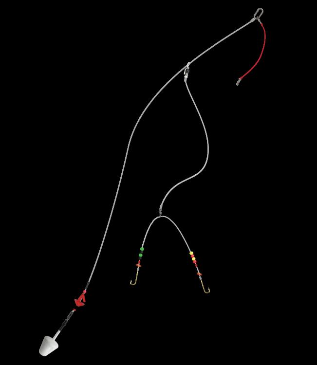 Ada's wishbone plaice rig