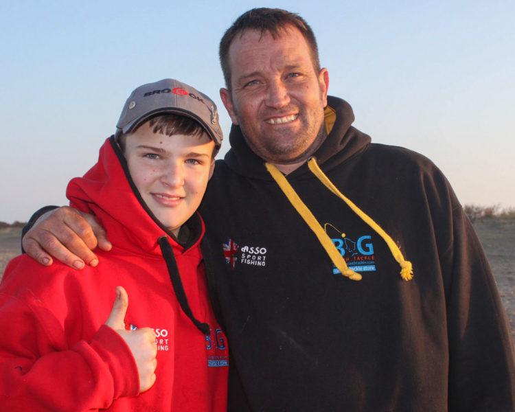 Tyler (left) and Gary