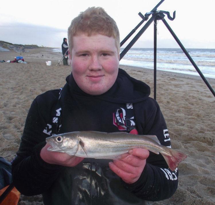 Longest round fish winner Dylan Morgan (library photo)