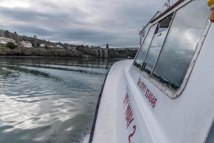 Welsh winter fishing aboard My Way 2