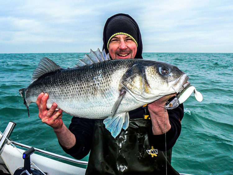 Dave Cheal with his 17lb bass