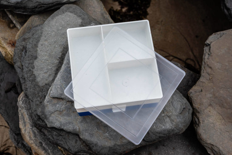 the Colmic Bait Box Cooler top tray and lid